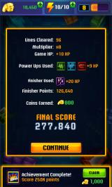 Tetris Blitz Android Results