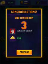 Tetris Blitz iPad Leveled up to level 3. Now I will get challenges from the leaderboard.