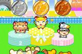Hamtaro: Ham-Ham Games Game Boy Advance Medals being handed out after an event is finished