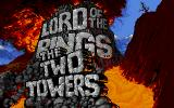 J.R.R. Tolkien's The Lord of the Rings, Vol. II: The Two Towers DOS Title screen