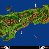 Lords of the Rising Sun Sharp X68000 Map