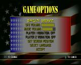 Spec Ops: Stealth Patrol PlayStation Game options. Difficulty: Private, Corporal, and Sergeant.
