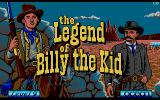 Billy the Kid Amiga Title screen