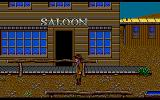 Billy the Kid Amiga In front of saloon