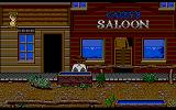 Billy the Kid Amiga Entering the saloon
