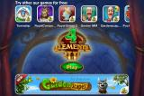 4 Elements II iPhone Playrix advertises that  they have lots of games to choose from.