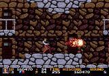 Rolling Thunder 2 Genesis The flamethrower is the most powerful weapon at close range.
