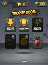 Wuzzit Trouble iPad The trophy room