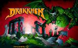 Drakkhen Sharp X68000 Title screen