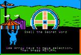 Sesame Street: Letter-Go-Round Apple II The game screen is uncovered