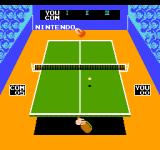 Ping Pong NES Returning a ball.
