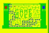 Amazing Maze / Tic-Tac-Toe Bally Astrocade Amazing Maze - Game over