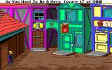 Hero's Quest: So You Want To Be A Hero Amiga One of two main streets in Spielburg
