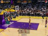 Virtua NBA Arcade Lakers with the throw in