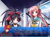 Yumina the Ethereal Windows Most dialogs are shown in a standard visual-novel way.