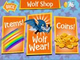 Wolf Toss iPad What you see if you enter the Shop