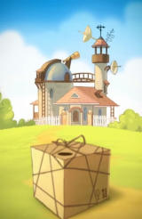 Cut the Rope: Experiments Android The package accidentally arrives at professor's house