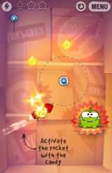Cut the Rope: Experiments Android New element - rocket
