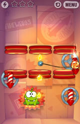 Cut the Rope: Experiments Android You can change direction of these rockets (before candy hits them that is)