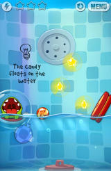 Cut the Rope: Experiments Android New element - water