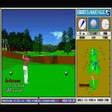 New 3D Golf Simulation: Eight Lakes G.C. Sharp X68000 Doh!