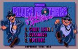 The Blues Brothers: Jukebox Adventure DOS Title screen
