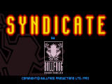 Syndicate DOS Title Screen