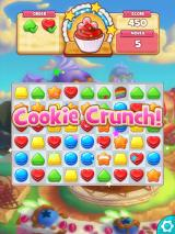 Cookie Jam iPad Once you finish the level, if you have any moves left, you enter Cookie Crunch.
