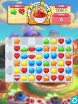 Cookie Jam iPad Cookie Crunch clears several cookies that gain you points.