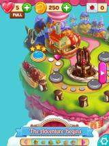 Cookie Jam iPad The map for the first area