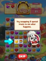 Cookie Jam iPad Try swapping 2 special treats