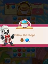 Cookie Jam iPad On this level, you have to gather ingredients and stop gingerbread men.