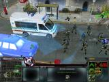 Act of War: Direct Action Windows Zooming in on the ambulance car healing your troops