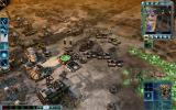 Command & Conquer 3: Tiberium Wars Windows A good angled view of the entire base