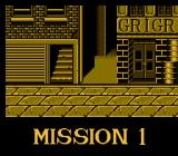 Double Dragon NES A typical Mission opening