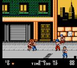 Double Dragon NES Marian has been kidnapped!