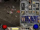 Diablo II Windows You can play with half of the screen constantly showing your inventory