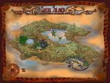Escape from Monkey Island Windows The map of Lucre island