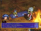 Grandia II Windows Tio is learning what is means to be alive