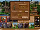 Heroes of Might and Magic II: The Succession Wars Windows Recruiting units