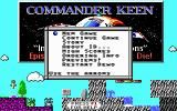 Commander Keen 3: Keen Must Die! DOS Title Screen
