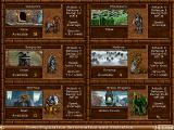 Heroes of Might and Magic II: The Succession Wars Windows Warlock class unit tree