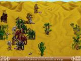 Heroes of Might and Magic II: The Succession Wars Windows Encountering dragons in the desert