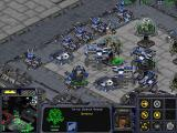 StarCraft Windows Defenses from any ground or air attacks are set in place