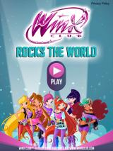Winx Club: Rocks the World iPad Title screen