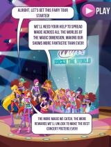 Winx Club: Rocks the World iPad Opening story