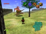 The Legend of Zelda: Ocarina of Time Nintendo 64 Ridiculous and rather dangerous wild life in Hyrule field