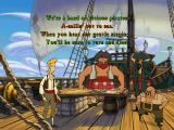 The Curse of Monkey Island Windows If you want to stop your crew from singing, give them something that doesn't rhyme
