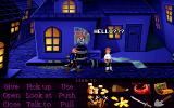 Monkey Island Madness DOS Town sheriff doesn't like your snooping around