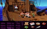Monkey Island Madness DOS Your crew is lazy to say the least